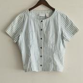 hickory short sleeve Shirt.