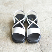 Used sandal Made in Italy.