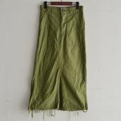 1969's U.S.ARMY baker pants remake long skirt