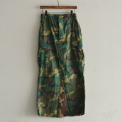 Remake Military maxi skirt