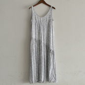 1960~70's Vintage INDIAN Cotton one-piece