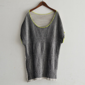 Short sleeve knit tops