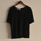 Short sleeve lace tops