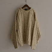 HAND KNIT made in England