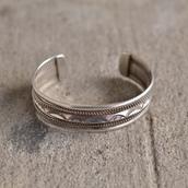 1980s navajo sterling silver bracelet