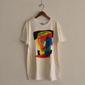 1980s ART TEE