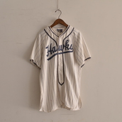 1950s Base ball Shirts Re Size