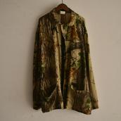 Camouflage cotton gauze JKT