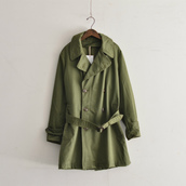 1950`s US.ARMY trench coat