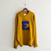1960's Lettered knit