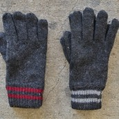 1960`s vintage wool glove