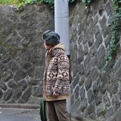 60`s~70`s Vintage wool×cashmere coat