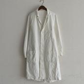 1960`s vintage laboratory coat