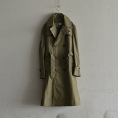 US ARMY TRENCH COAT. DEAD STOCK